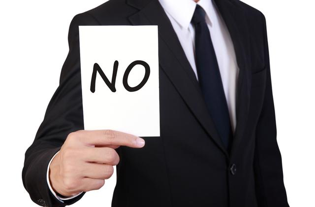 Dígale NO, al NO.